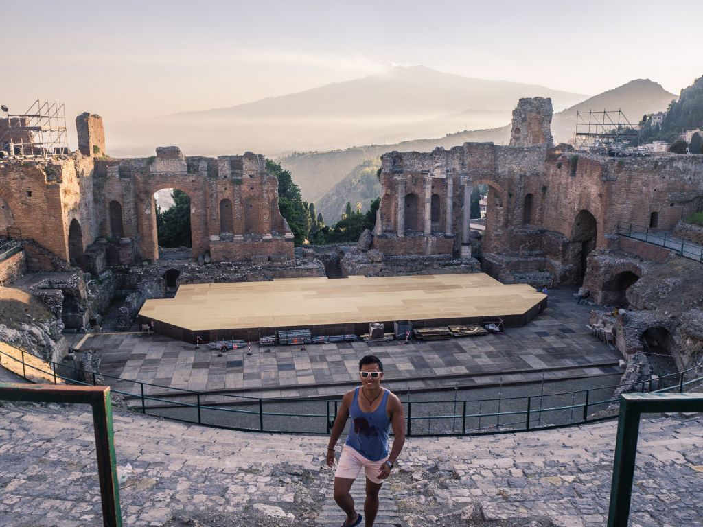taormina amphitheatre teatro greco