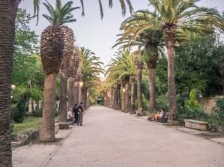 ragusa sicily old town park