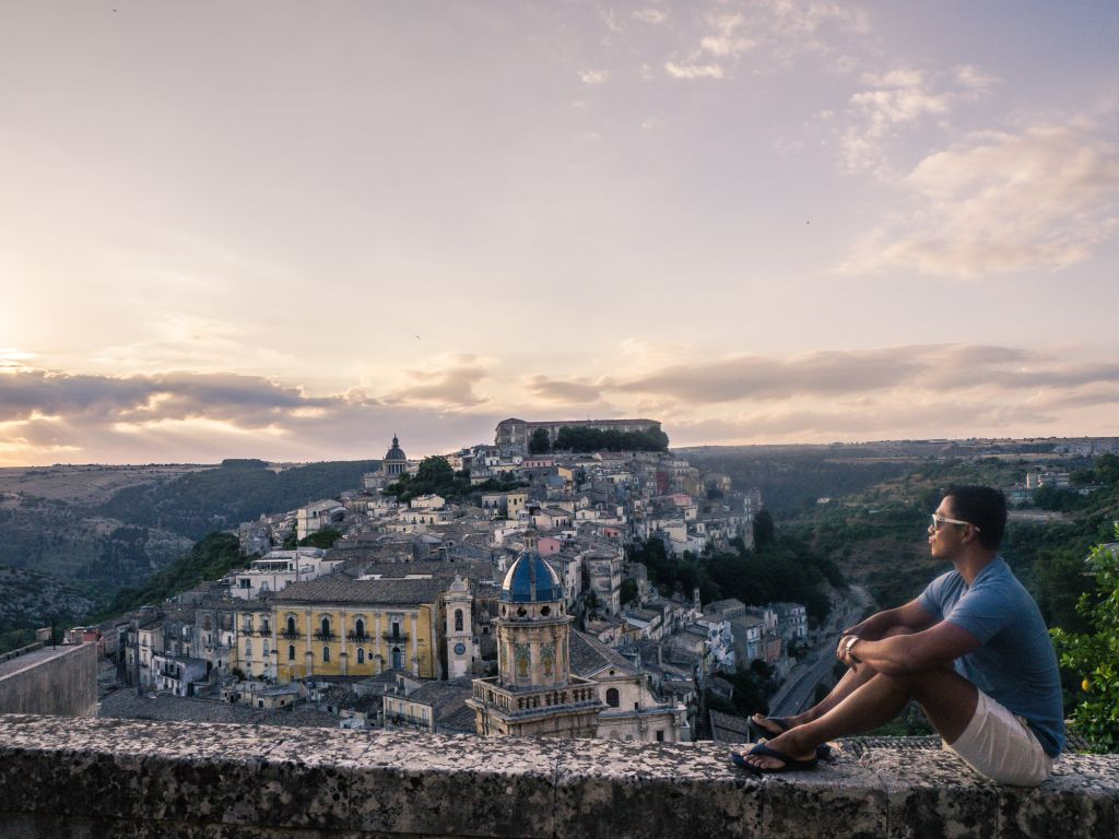 Ragusa old town views