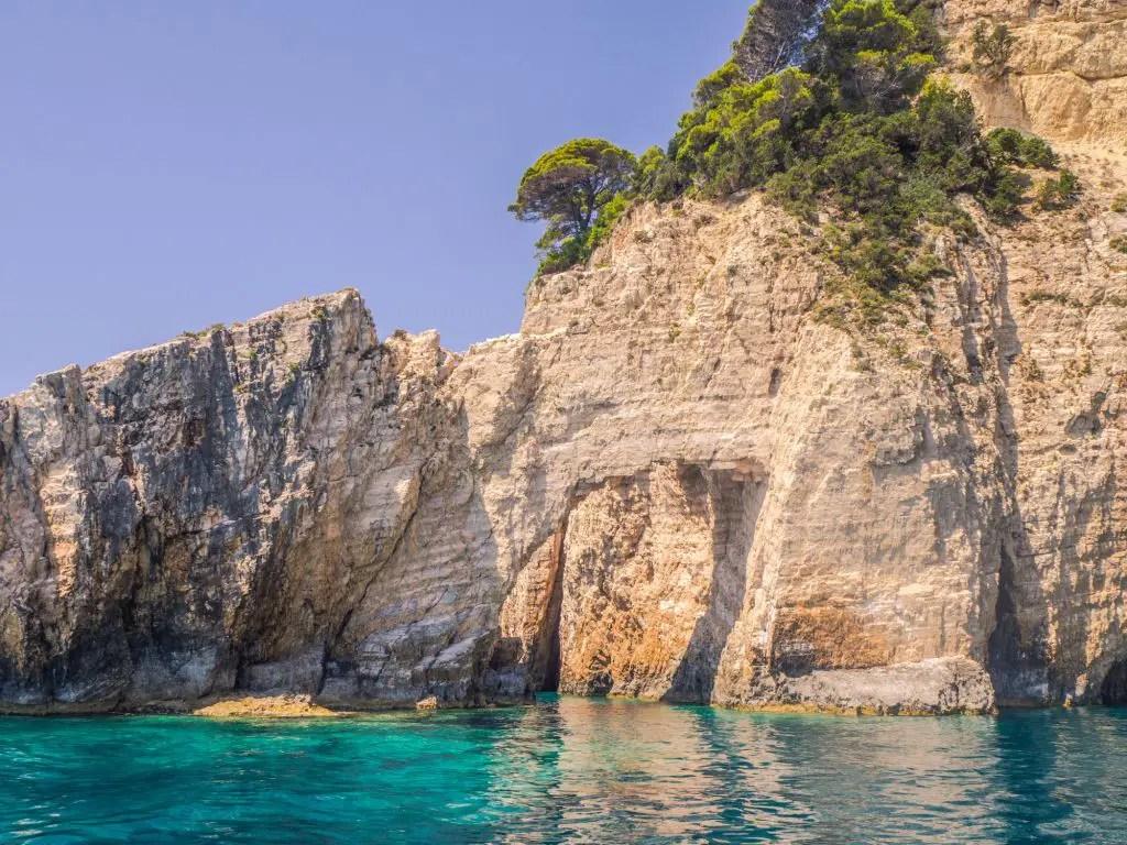 caves in zakynthos