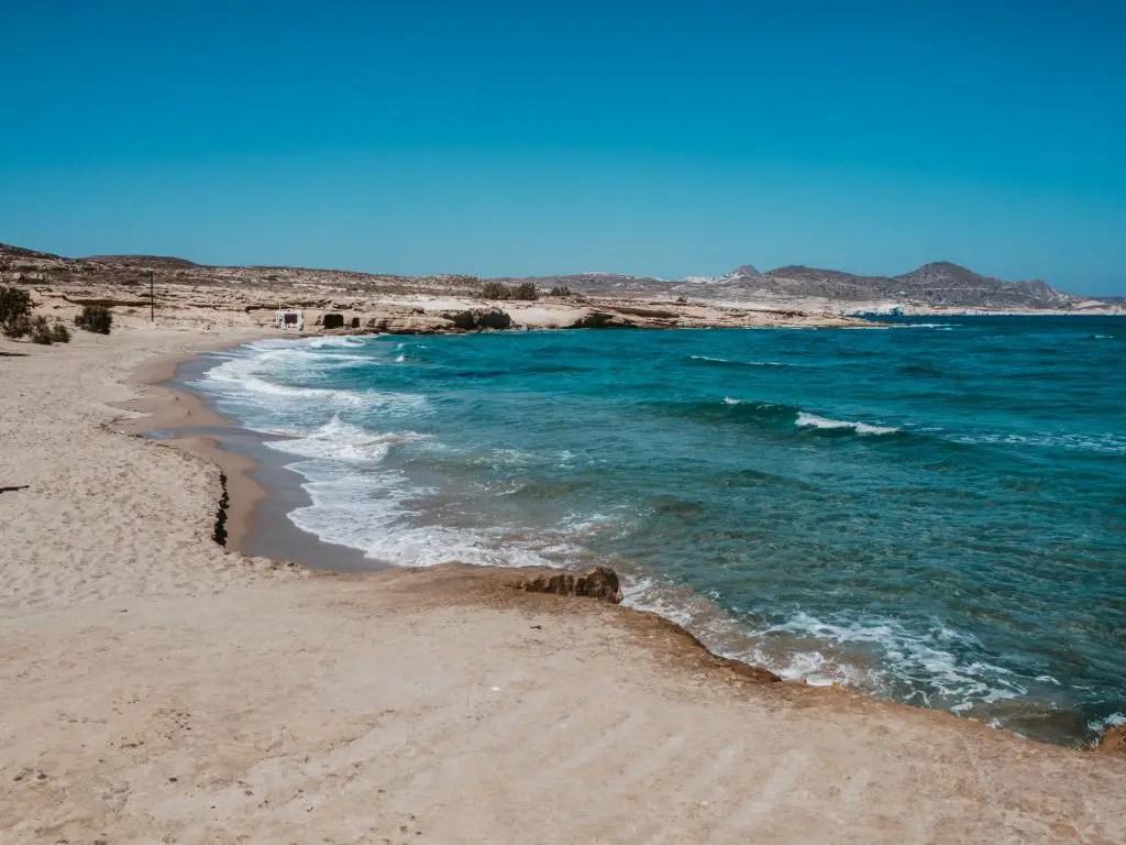 Mytakas Beach milos