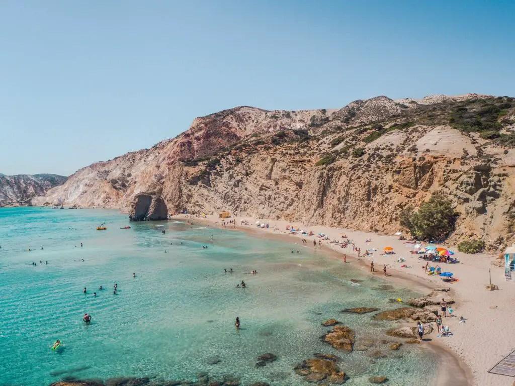 Fyriplaka Beach Milos