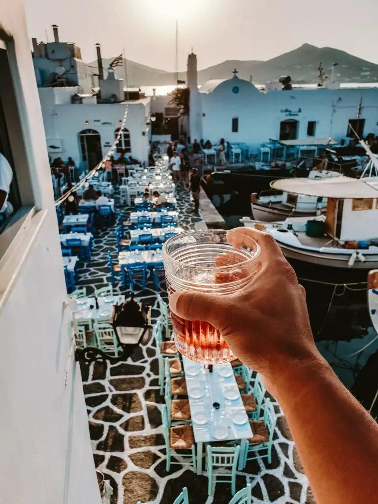 paros cocktail
