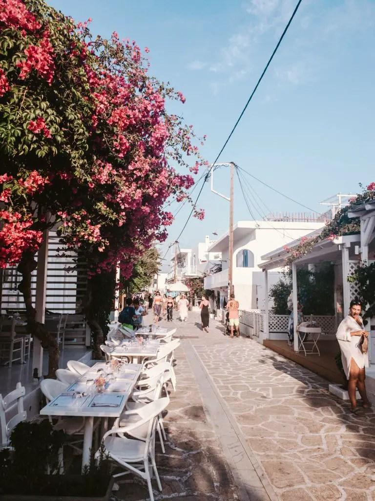Antiparos Town