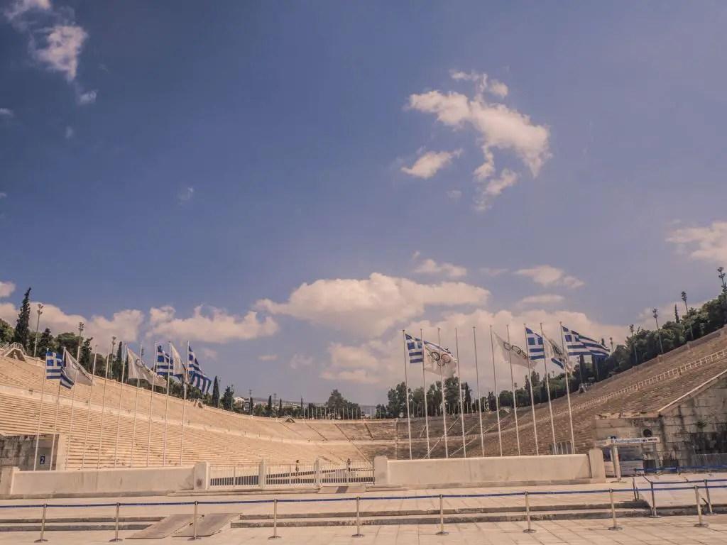 Olympic stadium athens