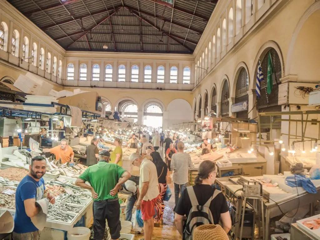 Athens main market