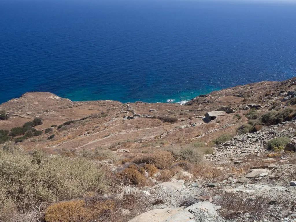 Folegandros terrain