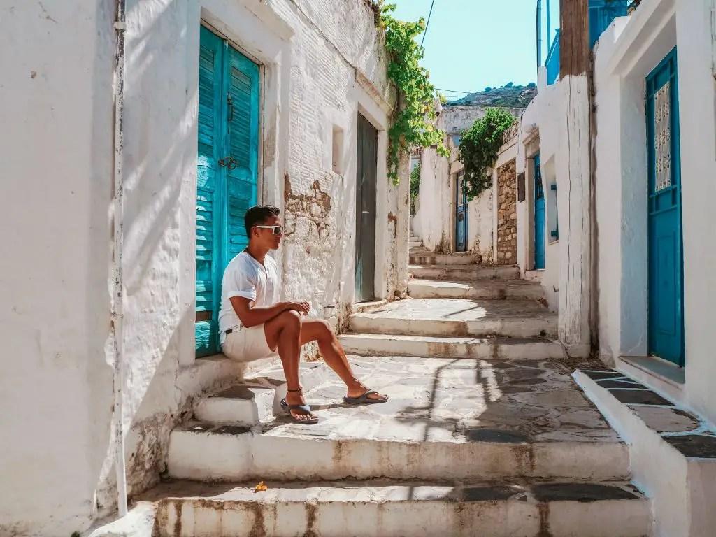 filoti naxos town
