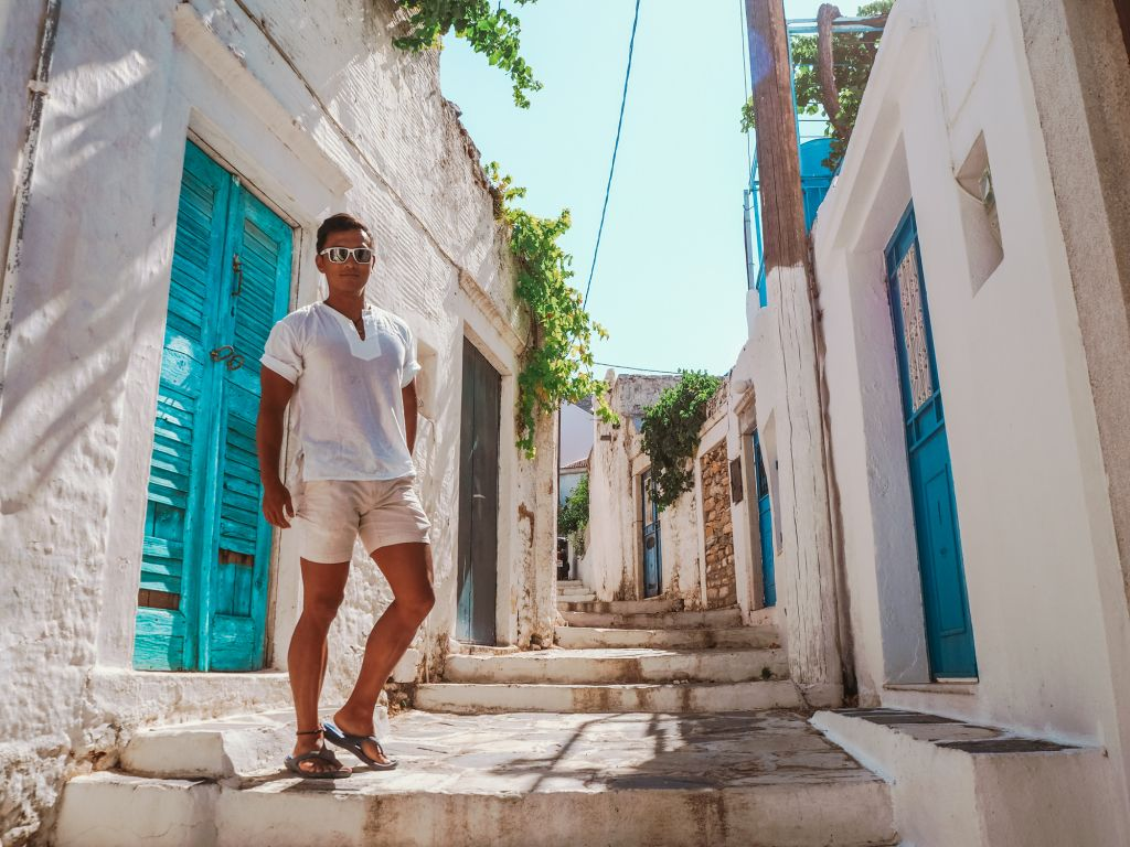 Naxos cycladic house