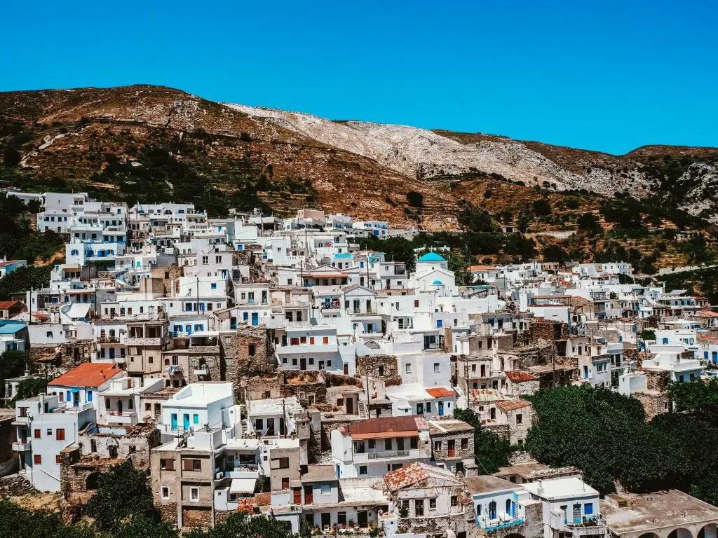 Koronos Naxos town