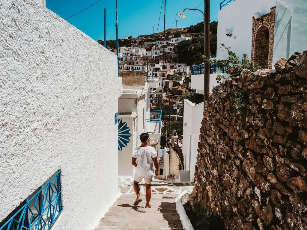 Koronos Town Naxos