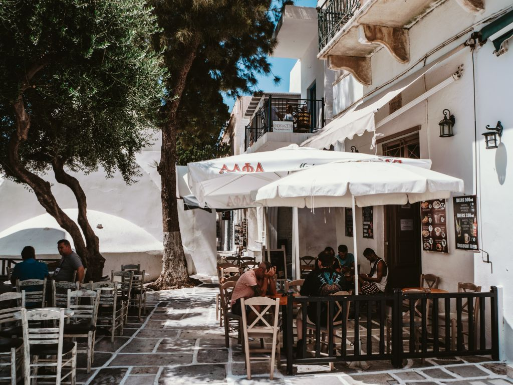 Ios Chora streets