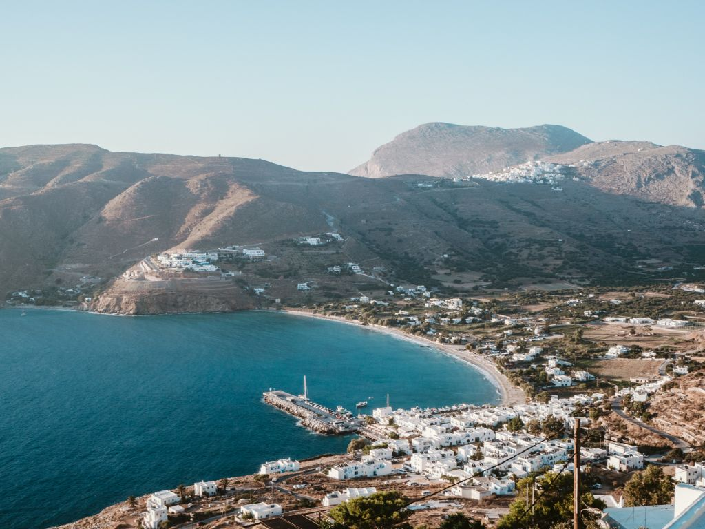 Aegiali Amorgos town