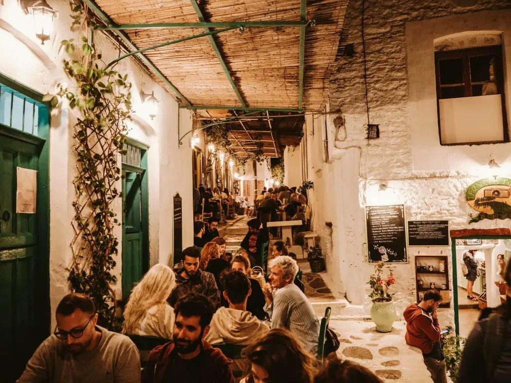 Amorgos restaurants greece