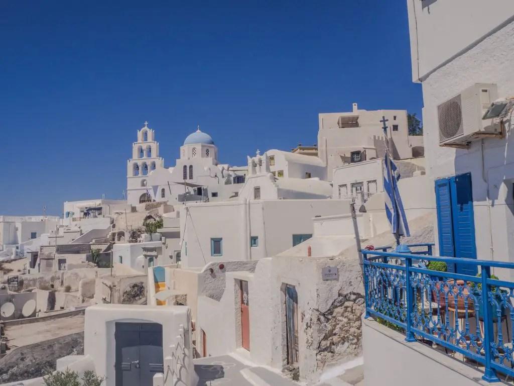 Pyrgos town santorini
