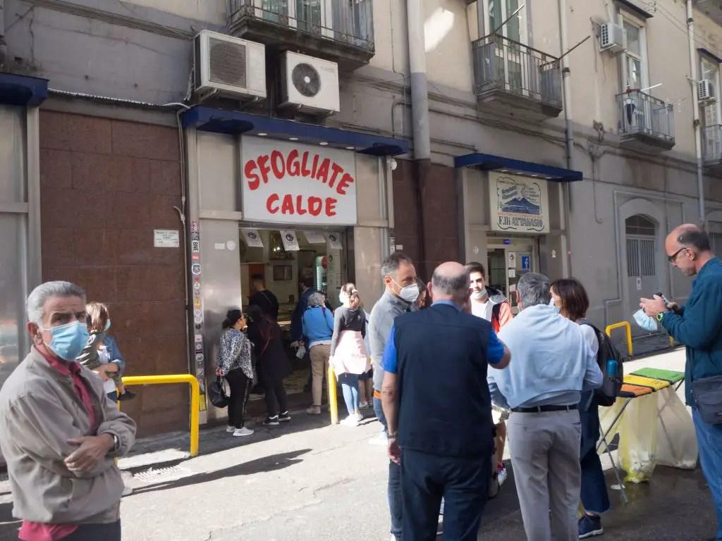 sfogliatelle Naples