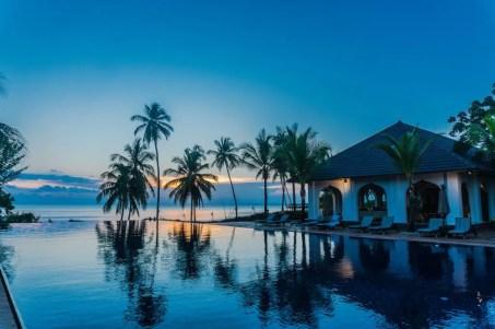 Residence hotel zanzibar pool