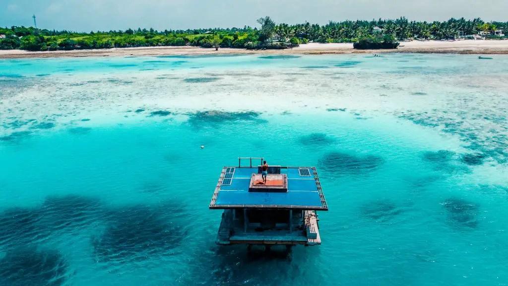 manta underwater villa pemba