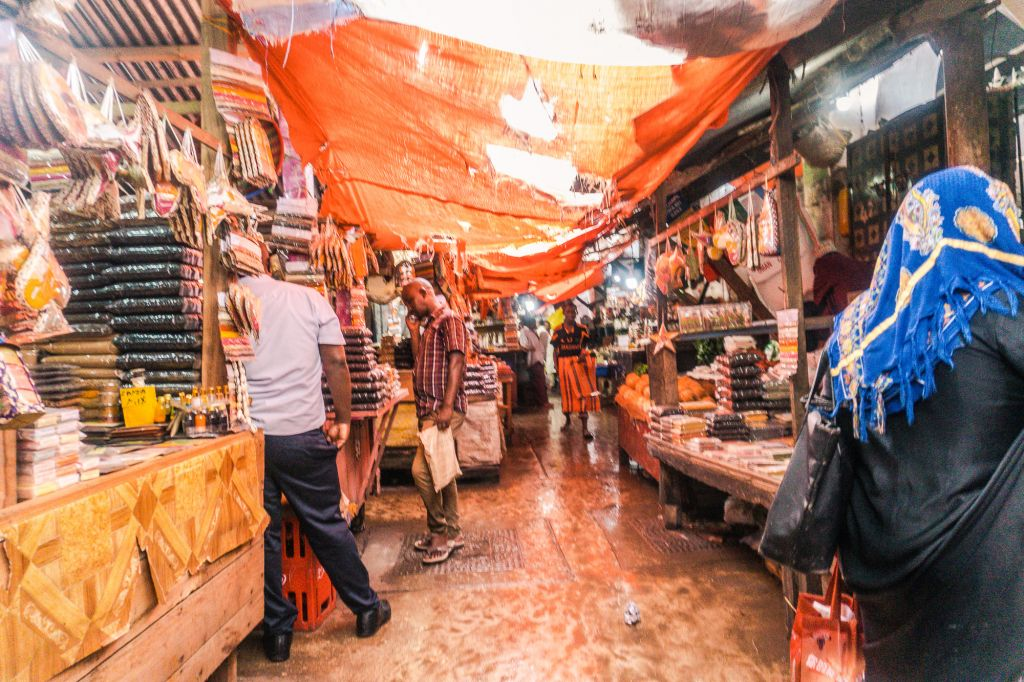Stone Town markets