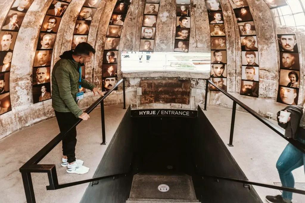 Tirana Bunker art
