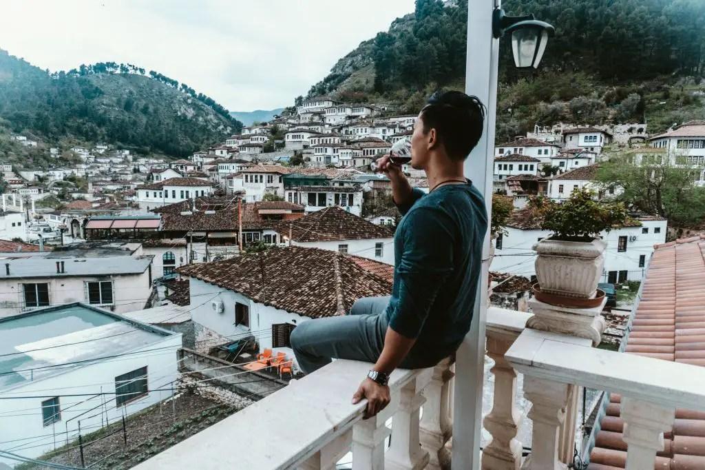 Berat views albania