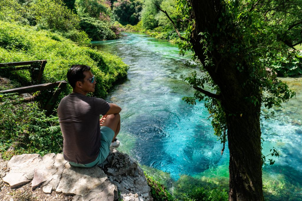 blue eye of sarande albania