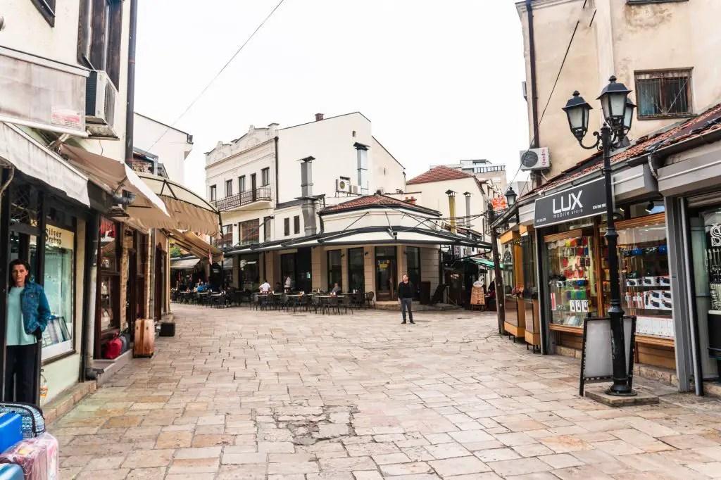 Skopje old district