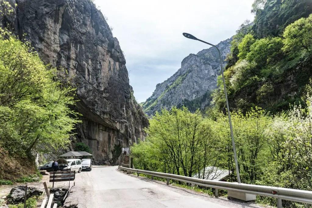Rugova Mountains in Kosovo