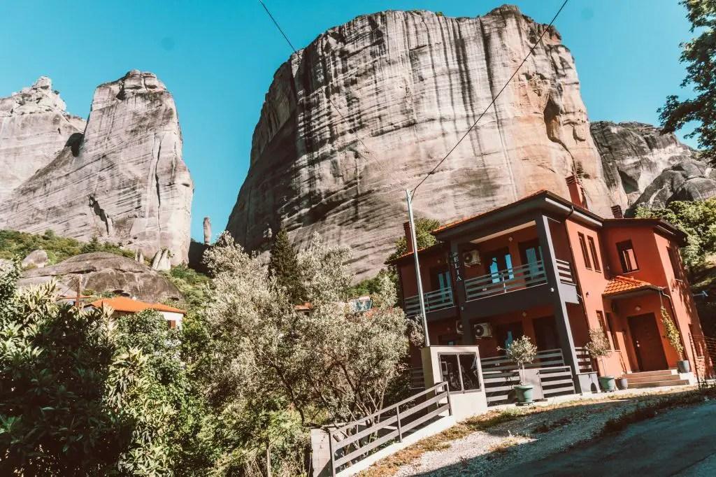 Kalambaka town Meteora Greece