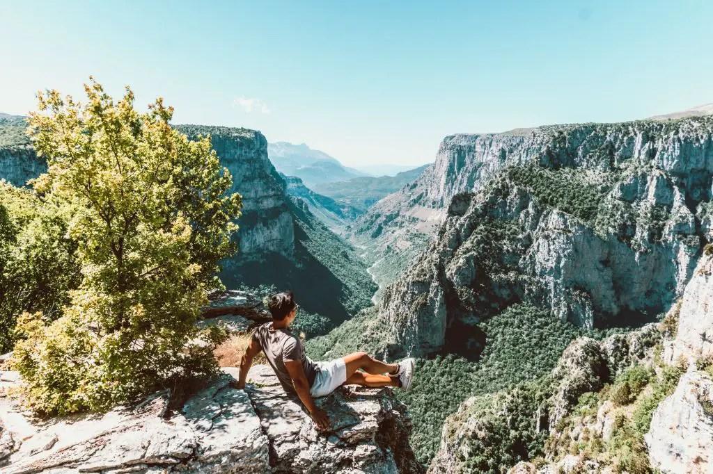 Zagori Mountains Beloi viewpoint Vikos Gorge