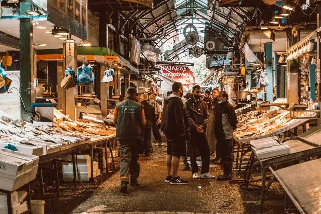 Kapani Market Thessaloniki
