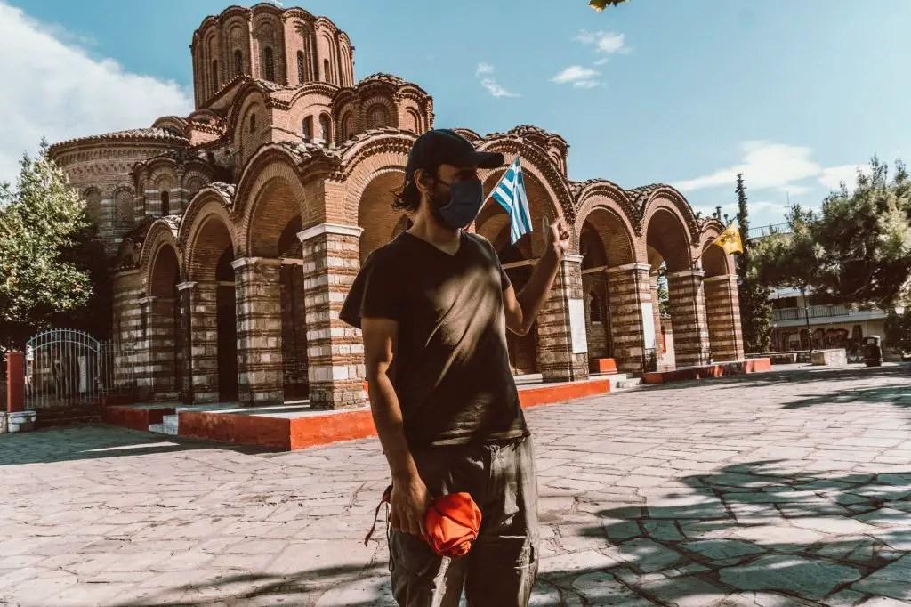Free walking tour Thessaloniki town Greece
