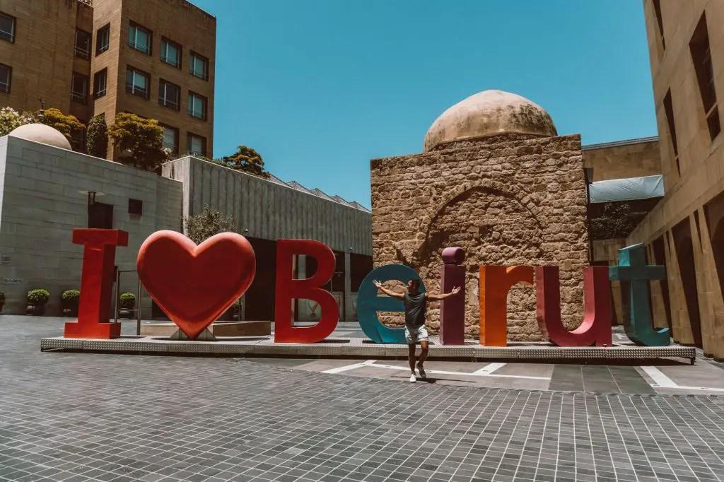 Beirut Lebanon streets city