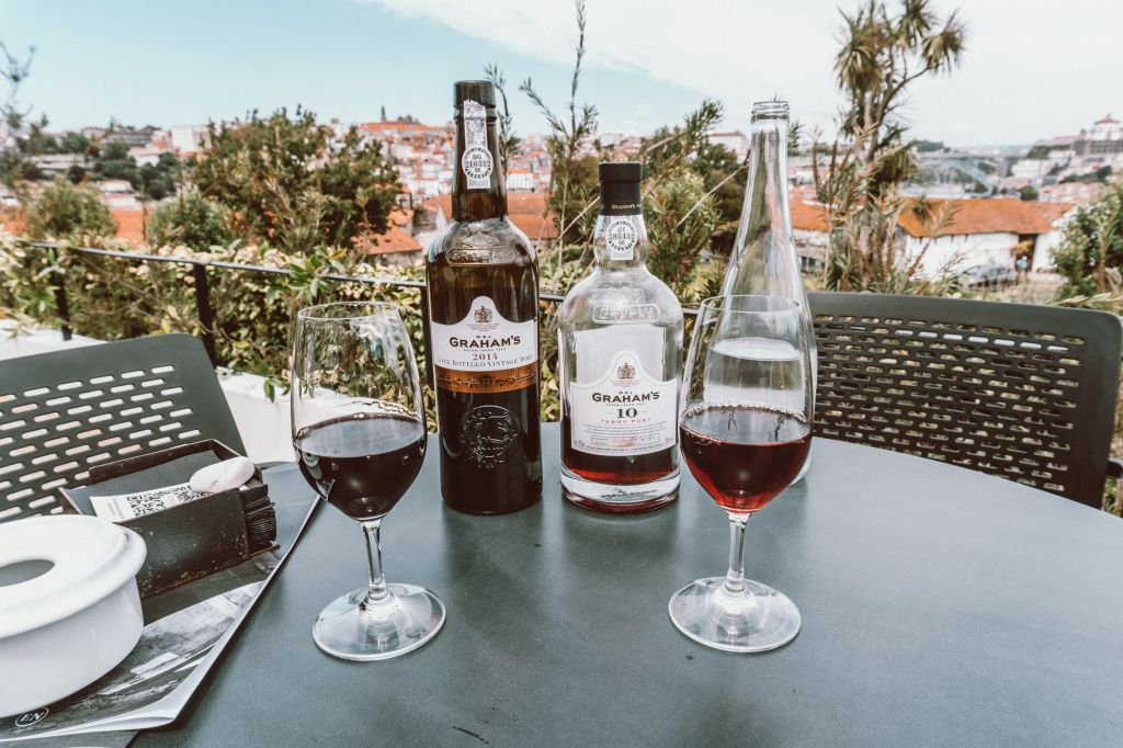 Wine tasting at Graham's port