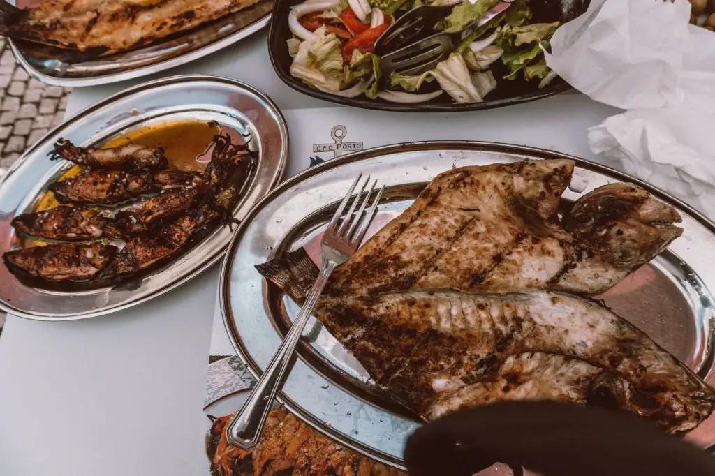 Afurada seafood