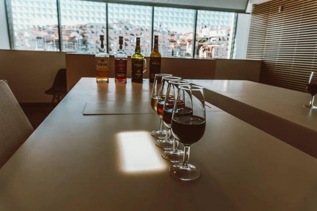 Port wine tasting