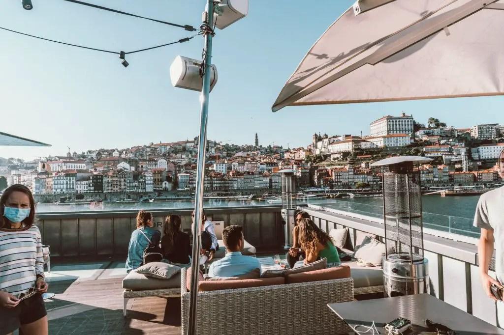 Porto Cruz Rooftop bar