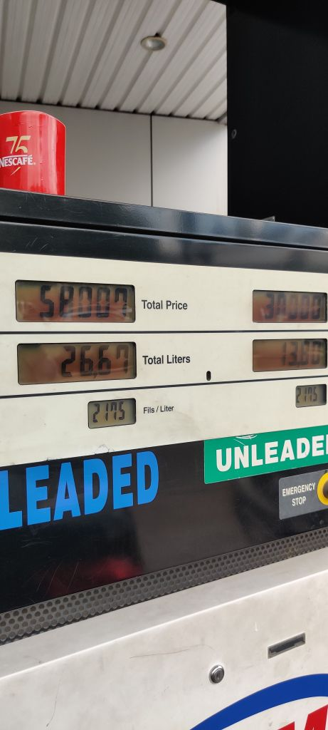 Gas station price lebanon economic crisis