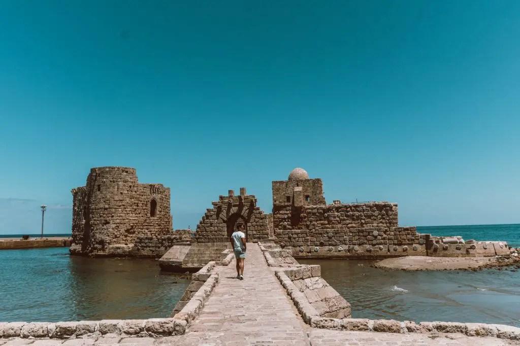 Saida Fortress castle