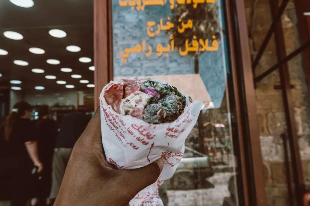 falafel lebanon abou rami