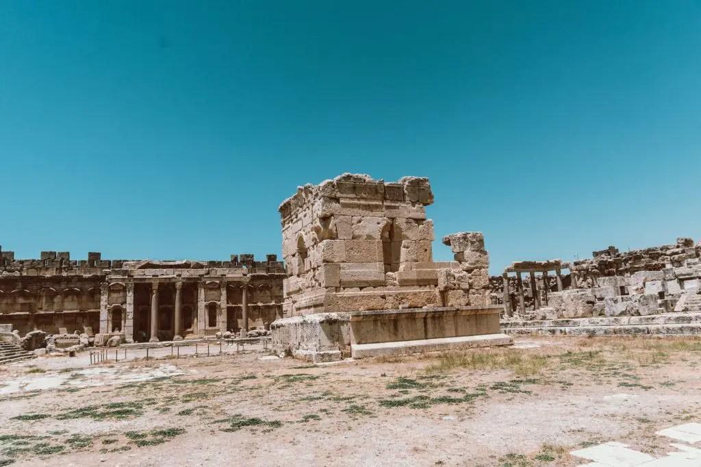 Baalbek Roman Ruins Lebanon