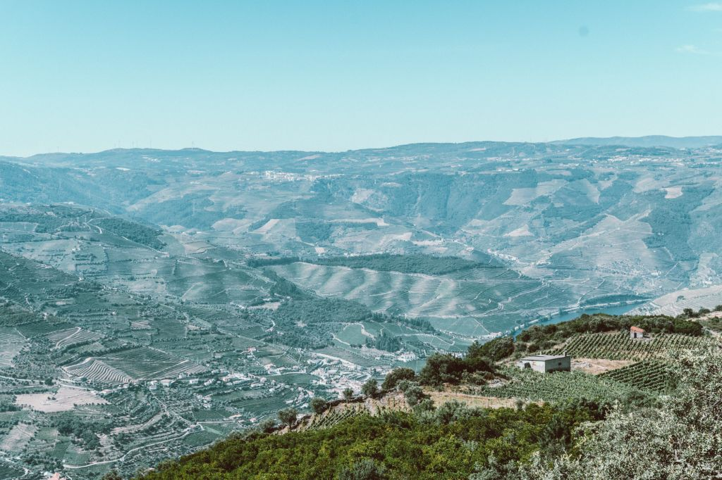 St. Leonardo de Galafura viewpoint douro Valley