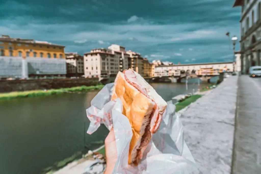 Florence all antico vinaio panini sandwich