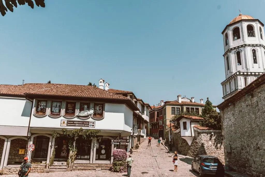 Plovdiv Bulgaria Kapana district