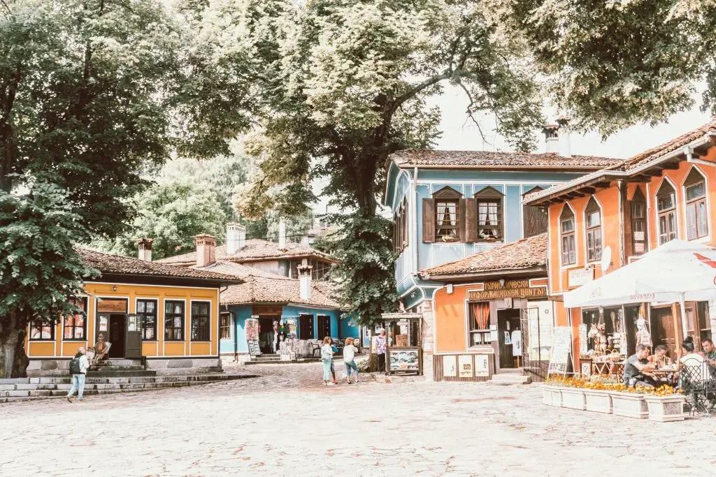 Koprivshtitsa town bulgaria