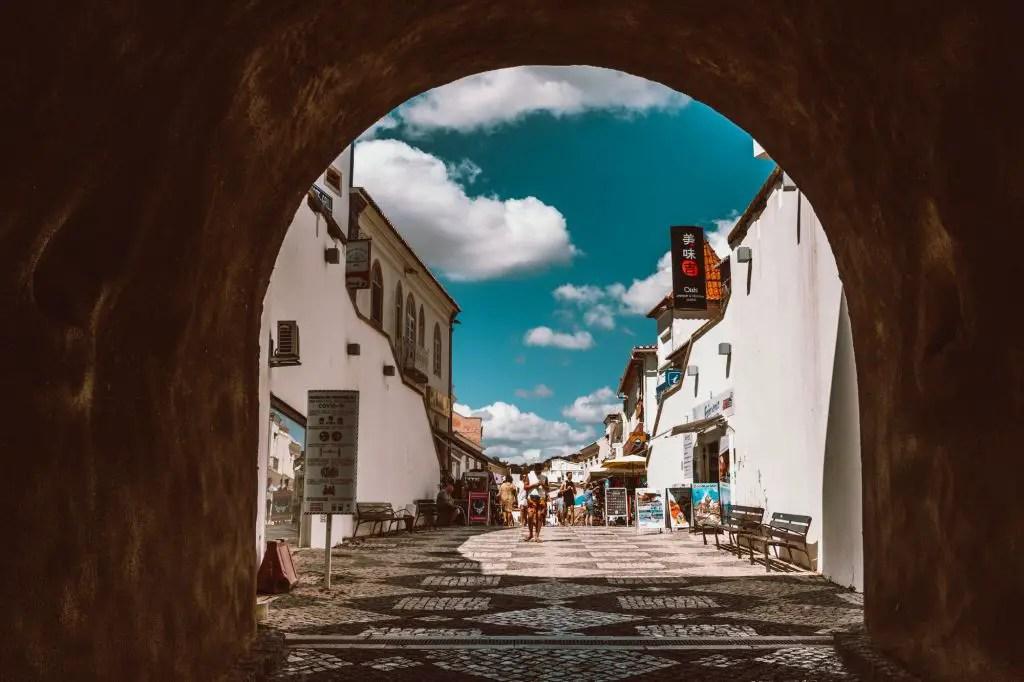 Albufeira town Algarve Portugal