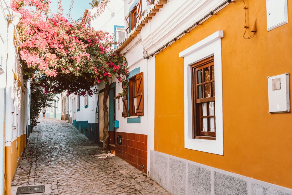 Ferragudo Town Portugal Algarve