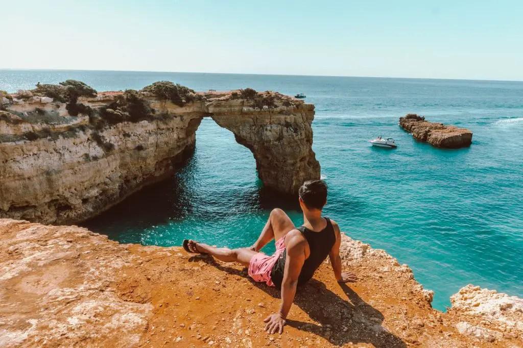 Algarve Coast Praia Da Albandeira