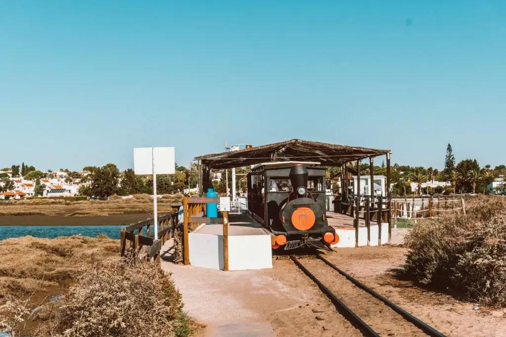 Train praia do Barril portugal algarve