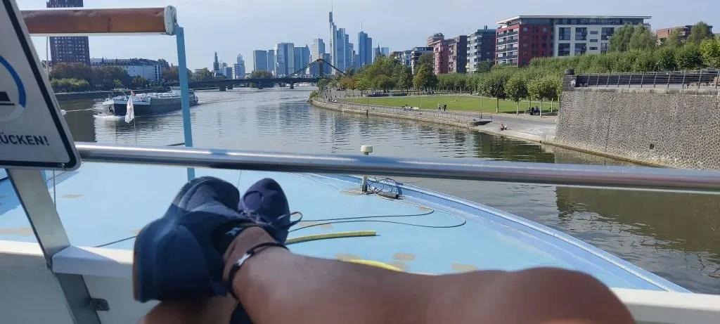 Frankfurt primus ferry ride river cruise